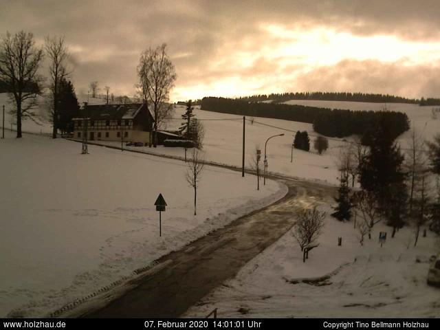 Holzhau Webcam 07.02.2020