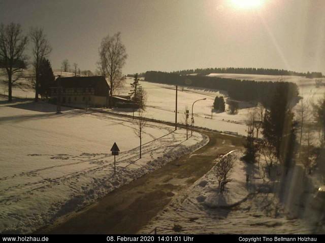 Holzhau Webcam 08.02.2020