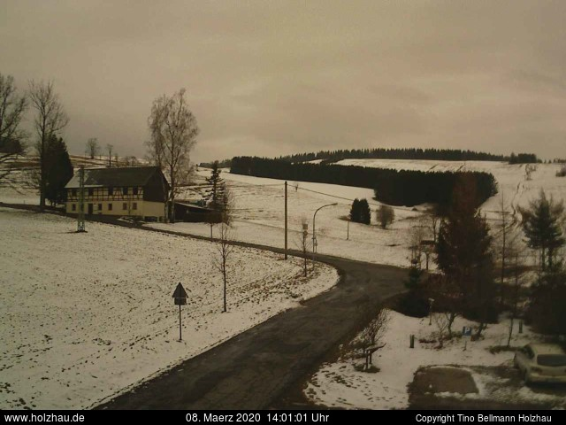 Holzhau Webcam 08.03.2020