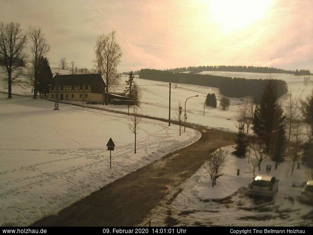 Holzhau Webcam 09.02.2020
