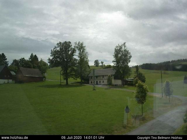 Holzhau Webcam 09.07.2020