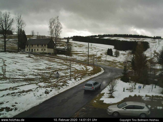 Holzhau Webcam 10.02.2020