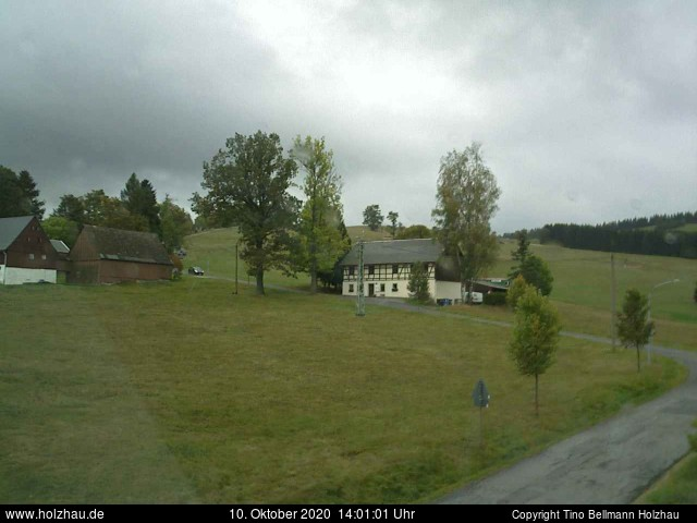 Holzhau Webcam 10.10.2020