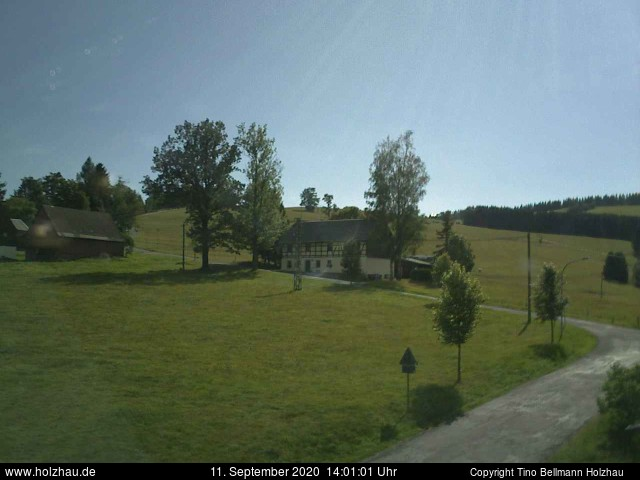 Holzhau Webcam 11.09.2020