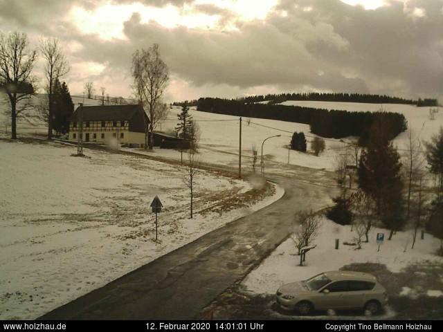 Holzhau Webcam 12.02.2020