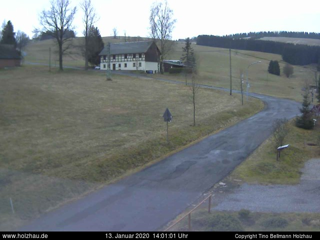 Wetter am 13.01.2020 in Holzhau (Erzgebirge)