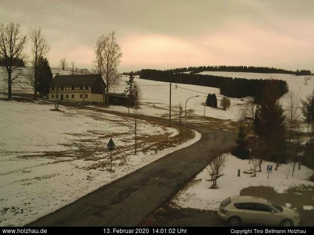 Wetter am 13.02.2020 in Holzhau (Erzgebirge)