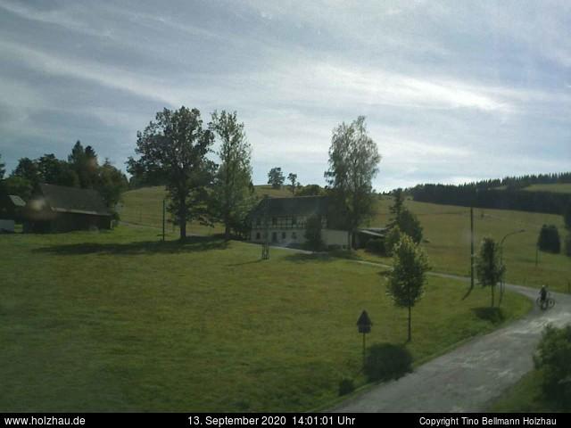 Holzhau Webcam 13.09.2020