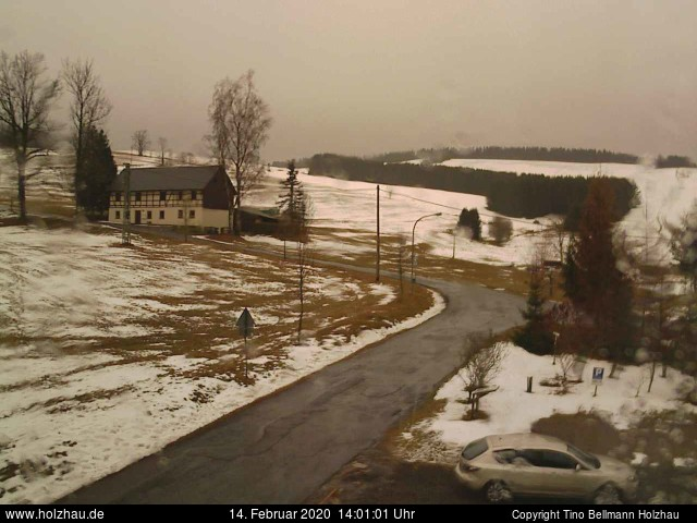 Wetter am 14.02.2020 in Holzhau (Erzgebirge)