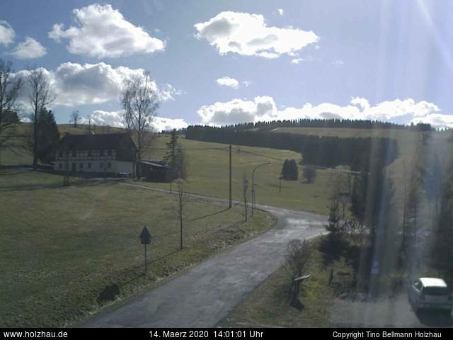 Holzhau Webcam 14.03.2020