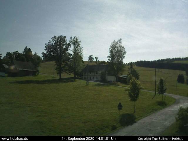 Holzhau Webcam 14.09.2020