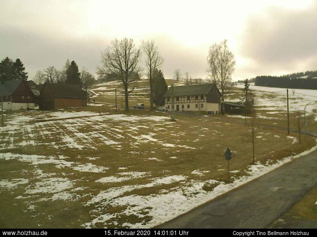 Holzhau Webcam 15.02.2020