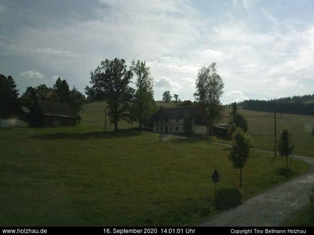 Wetter am 16.09.2020 in Holzhau (Erzgebirge)