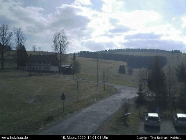Holzhau Webcam 18.03.2020