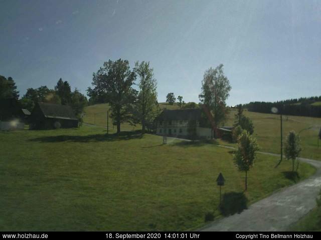 Holzhau Webcam 18.09.2020