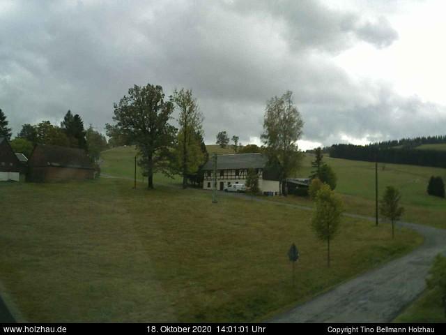 Holzhau Webcam 18.10.2020