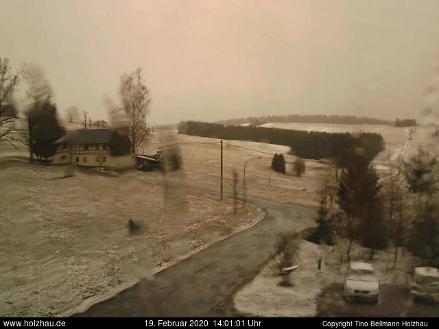 Holzhau Webcam 19.02.2020