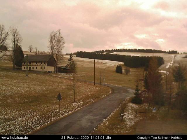 Wetter am 21.02.2020 in Holzhau (Erzgebirge)