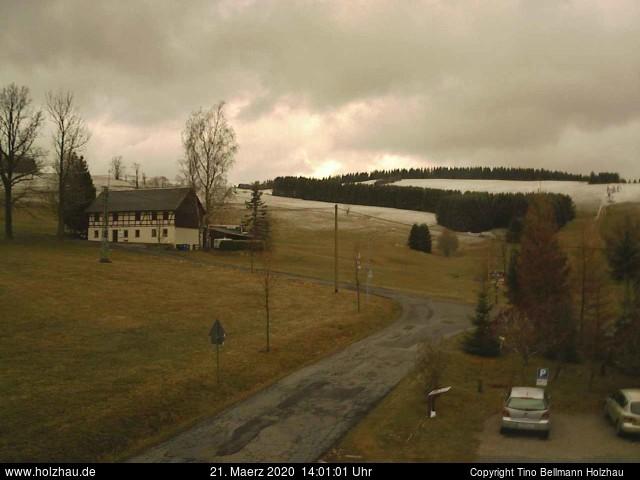 Holzhau Webcam 21.03.2020