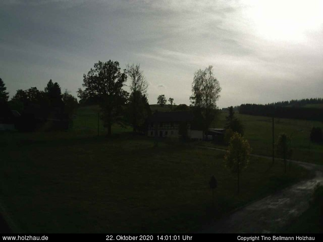 Holzhau Webcam 22.10.2020