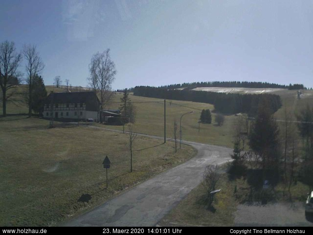 Holzhau Webcam 23.03.2020