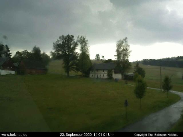 Wetter am 23.09.2020 in Holzhau (Erzgebirge)