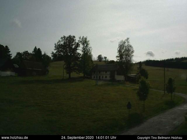 Holzhau Webcam 24.09.2020