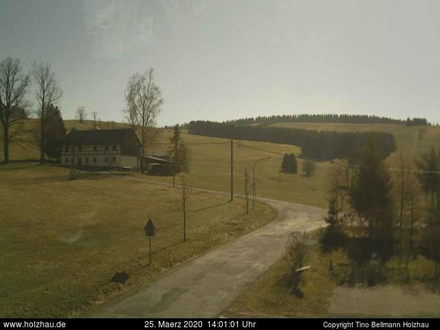Wetter am 25.03.2020 in Holzhau (Erzgebirge)