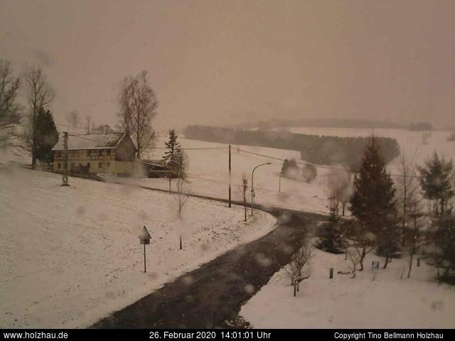 Holzhau Webcam 26.02.2020