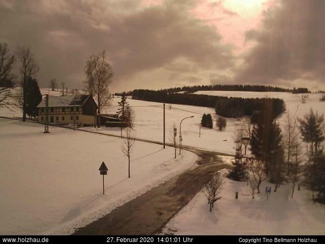 Holzhau Webcam 27.02.2020