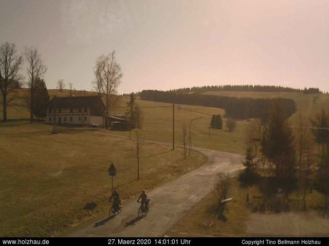 Holzhau Webcam 27.03.2020