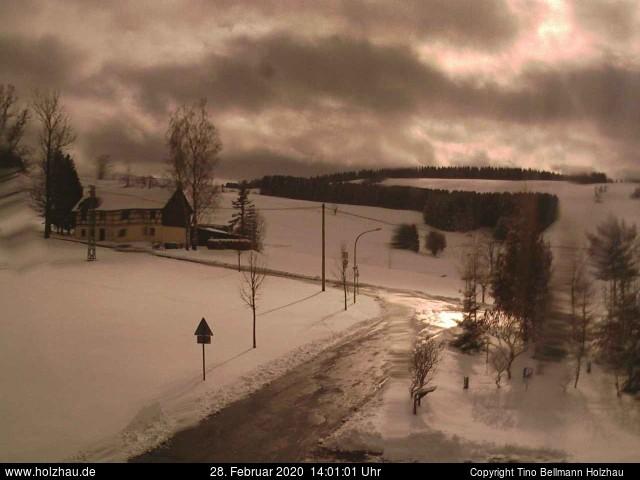 Holzhau Webcam 28.02.2020