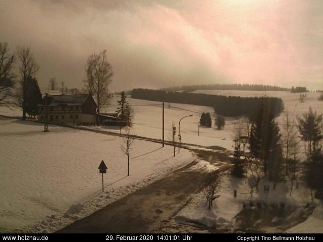 Holzhau Webcam 29.02.2020