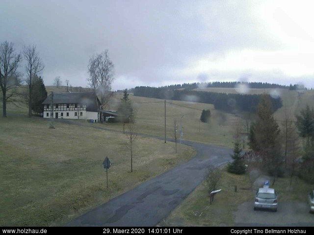 Holzhau Webcam 29.03.2020