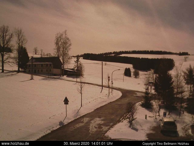 Holzhau Webcam 30.03.2020