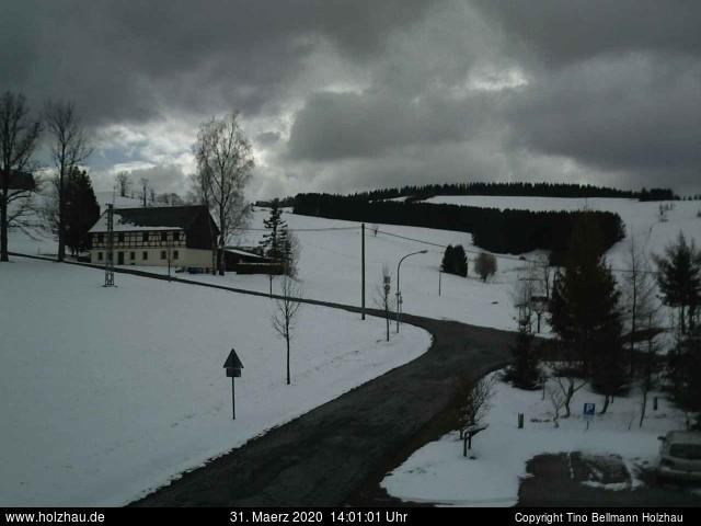Holzhau Webcam 31.03.2020
