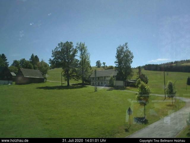 Holzhau Webcam 31.07.2020