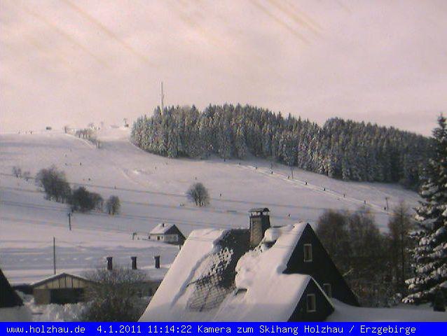 Webcam Skilift Erzgebirge19.08.2008