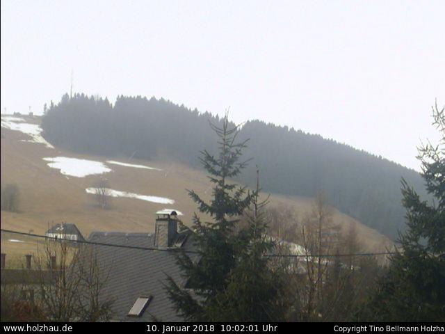 Holzhau Webcam Skilift Schnee 21.06.2015