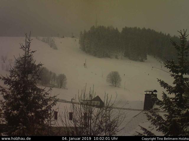 Holzhau Webcam 19.08.2016 Skilift Wetter